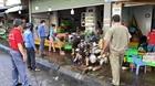 Từ 12 giờ trưa nay dừng hoạt động chợ tự phát ở TP. Vũng Tàu