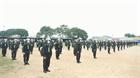 Lực lượng CSCĐ hỗ trợ làm bệnh viện dã chiến Phước Lộc