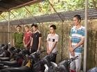 Nhóm nghiện chuyên trộm cắp xe máy sa lưới