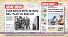 Tin tức nổi bật trên báo ngày 04/11