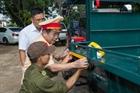 Hiệu quả dán decal phản quang xe công nông tại Đắk Nông