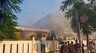 Cháy kho hàng hóa trong khuôn viên trường Tiểu học Chi Lăng, Đà Nẵng