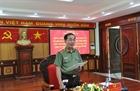 Thứ trưởng Trần Quốc Tỏ làm việc với Công an tỉnh Đắk Lắk