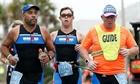 Bệnh nhân Down đầu tiên hoàn thành cuộc thi Ironman