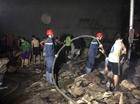 Cháy cơ sở chế biến hạt điều ở Đồng Phú