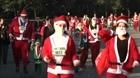 Giải chạy ông già Noel khác biệt trong dịch Covid-19