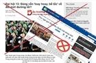 Ngăn chặn các hoạt động chống phá trên không gian mạng khi diễn ra Đại hội Đảng