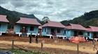 Bàn giao nhà cho đồng bào bị sạt lở núi xã Trà Leng
