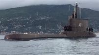 Indonesia thông báo về tàu ngầm bị mất tích