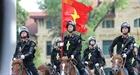 Màn trình diễn chuyên nghiệp của Đoàn CSCĐ kỵ binh