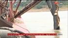 Đồng loạt bắt giữ 19 tàu khai thác cát trái phép trên sông Hồng