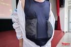 Bệnh viện Y học cổ truyền Công an sáng tạo áo chống sốc nhiệt