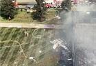 Máy bay lao vào tòa nhà và bốc cháy ở Connecticut, 4 người tử vong