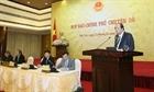 Họp báo về việc dừng dự án điện hạt nhân Ninh Thuận