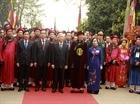 Tổng Bí thư Nguyễn Phú Trọng dâng hương tại Lễ Giỗ Tổ Hùng Vương