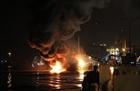 Quả cảm khống chế vụ cháy tàu chở xăng Hải Hà 18