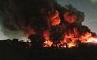 Cháy kho hàng nghìn m2 trong KCN Tân Tạo