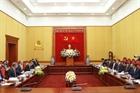 Bộ trưởng Tô Lâm tiếp Bộ trưởng Ngoại giao và Phát triển Anh Dominic Raab