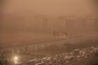Trung Quốc ban bố cảnh báo nguy hiểm do bão cát