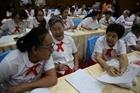 Những người già đi học ở Thái Lan