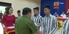 Trại giam Tân Lập công bố quyết định tha tù trước thời hạn