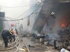 Cảnh báo hiểm họa cháy chợ do chập điện