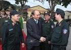 Thủ tướng Chính phủ thăm, kiểm tra công tác ứng trực của Bộ Tư lệnh Cảnh sát cơ động