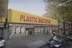 Cửa hàng trưng bày túi nhựa tại New York, Mỹ