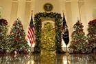 Nhà Trắng lung linh đón Giáng sinh trong chủ đề đặc biệt