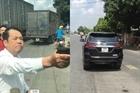 Triệu tập giám đốc công ty bảo vệ dùng súng đe dọa người đi đường
