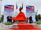 Khánh thành tượng đại thi hào Pushkin tại Hà Nội