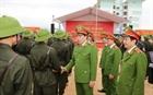 Thứ trưởng Lê Quốc Hùng dự khai giảng khóa huấn luyện tại Trung đoàn CSCĐ Đông Bắc