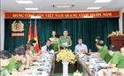 Thứ trưởng Trần Quốc Tỏ làm việc tại Công an tỉnh Đồng Nai