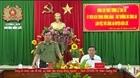 Thứ trưởng Lê Tấn Tới làm việc tại Công an huyện Tân Trụ, Bến Lức