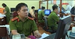Trung úy trẻ trong chiến dịch làm CCCD gắn chíp