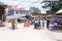 Vĩnh Phúc kiểm soát chặt các tuyến đường vào tỉnh