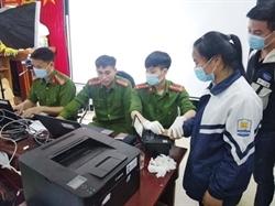 Công an Hòa Bình nỗ lực về đích trong chiến dịch cấp CCCD