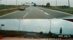 Ô tô đi ngược chiều trên cao tốc Nội Bài - Lào Cai