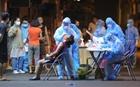 Xuyên đêm phong tỏa, xét nghiệm sau ca dương tính ở Thụy Khuê, Hà Nội
