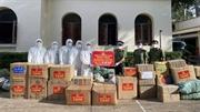 Công an tỉnh Bắc Giang trao quà hỗ trợ tỉnh thành phía Nam chống dịch