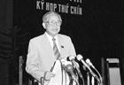 Đồng chí Lê Quang Đạo - Người có nhiều đóng góp cho công tác lập pháp