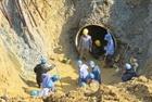 Đường ống nước sông Đà lại gặp sự cố