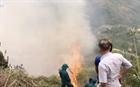 Cơ bản khống chế vụ cháy rừng ở huyện Si Ma Cai