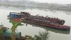 Bắc Ninh: Bắt 3 tàu khai thác và vận chuyển cát trái phép