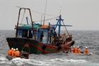 Khẩn trương tìm kiếm ngư dân mất tích gần đảo Bạch Long Vĩ