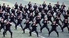 """Màn biểu diễn võ thuật trên nền nhạc """"Dòng máu Lạc Hồng"""""""