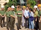 Thứ trưởng Nguyễn Văn Sơn kiểm tra tiến độ xây dựng trụ sở Bộ Công an phía Nam