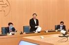 Chủ tịch Hà Nội ra công điện khẩn về phòng chống Covid-19
