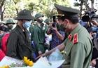 Thứ trưởng Lê Tấn Tới dự lễ giao nhận quân tại tỉnh Long An