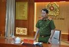 Thứ trưởng Lê Quốc Hùng làm việc tại Công an TP.HCM